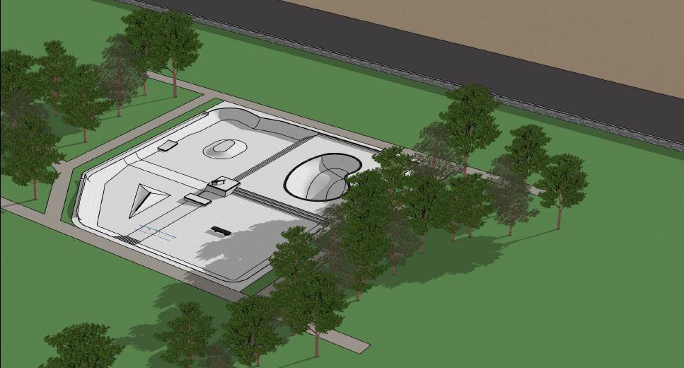 Coronation Park design