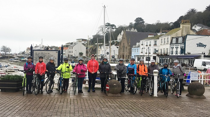 3d7995bd0 Breezing through winter with new cycle rides for women in Jersey ...